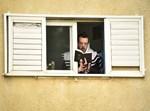 תפילת שחרית במרפסות וחצרות בירושלים