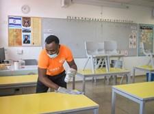 בית ספר בצל נגיף קורונה