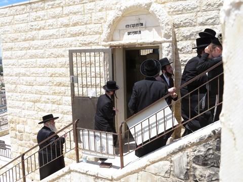 הילולא בקרעטשניף ירושלים בצל הקורונה