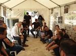 חברי הכנסת במחאת נציגי גני האירועים