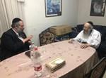 """חיים-יענק'ל ליבוביץ אצל הגה""""ח רבי טוביה בלוי"""