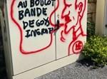 הכתובות האנטישמיות בחניון בצרפת