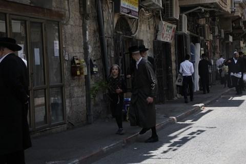 הכנות לחג השבועות בירושלים