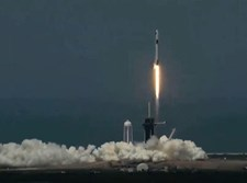 שיגור החללית מפלורידה