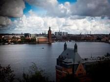 נוף טיפוסי בשוודיה