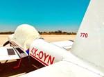 המטוס הפרטי מוכן לביצוע המשימה