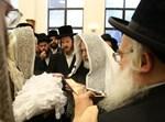 הרבי מויז'ניץ ירושלים סנדק בברית
