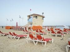 חוף ים בתל אביב. אילוסטרציה