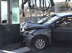 פיגוע דריסה במחסום הקיוסק באבו דיס