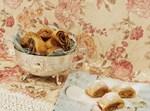 עוגיות מגולגלות מקמח כוסמין לבן, ללא מרגרינה