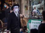 חרדי בירושלים מתמגן מקורונה