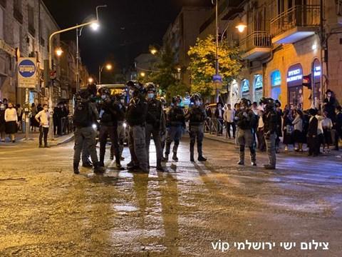 הפגנת חרדים בכיכר השבת