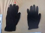 הכפפות שנמצאו בזירה