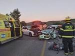 זירת התאונה סמוך ליישוב נטע