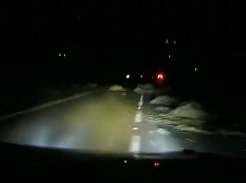הבליטות באמצע הכביש
