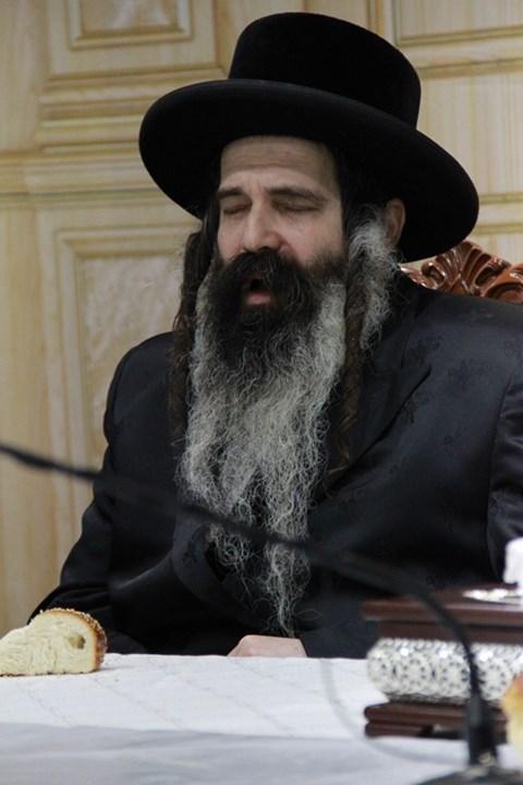 הילולת ה'נחל יצחק' אצל הרבי מזוטשקא