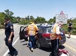 זירת התאונה בסמוך לנס הרים