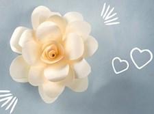 פרח מנייר