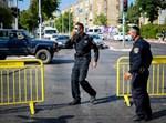 שוטרים במחסום. אילוסטרציה