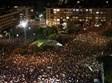 מחאה בכיכר רבין בתל אביב