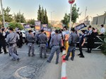 מחאת חרדים בכניסה לביתר