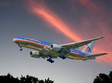 מטוס של חברת American Airlines