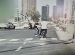 רוכב האופניים מתנגש בקורקינט