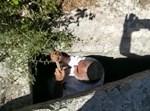 כרמלי במערת הקבורה