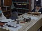 """הגר""""ח קנייבסקי בלימוד בביתו בימי המגפה"""