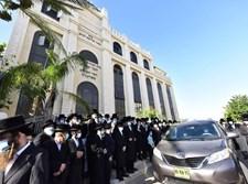"""הלוויה שבוע שעבר בביהמ""""ד סאדיגורה"""