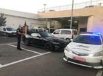 הרכב שנעצר על ידי השוטרים