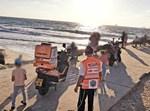 כוחות ההצלה בחוף