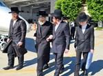 """הרבי מסאדיגורה זצ""""ל בדרכו לישראל"""