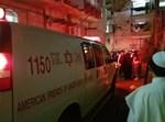 זירת התאונה בבית ישראל