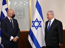 ראש הממשלה עם שר החוץ היווני