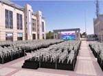 רחבת כיכר ספרא הוכנה לקראת האירוע המרכזי לבני עליה בירושלים