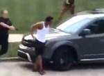 השוטרים יורים בגבו של הבחור השחור