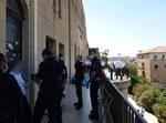 השוטרים בישיבת פוניבז'