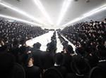 הרבי מבאבוב במחנה ישיבת קדושת ציון