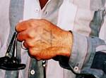 הערבי עם קעקוע על ידו של מגן דוד