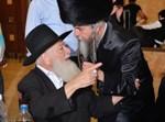 """הגאון רבי יעקב הלוי ליפשיץ זצ""""ל עם בנו הגר""""א"""