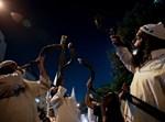 חסידי ברסלב מפגינים בירושלים