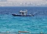 סירת משטרה בסריקות באזור החדירה