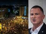 יולי אדלשטיין/ההפגנות בבלפור