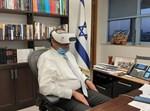 משה ליאון צופה במסע ירושלמי בעקבות גדולי הדור