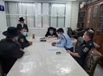 קציני משטרה אצל הרבי מסאסוב