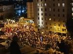 אלפי מפגינים נגד נתניהו בירושלים