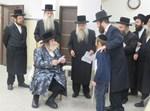 ישיבת דרכי נועם אצל הרבי מויז'ניץ