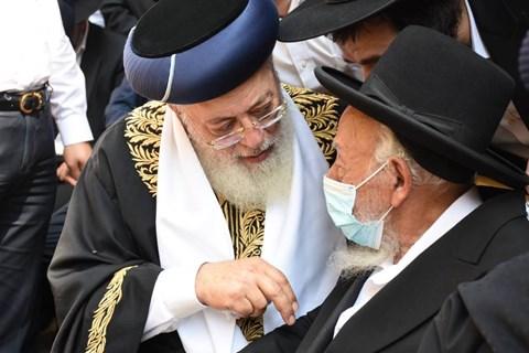 """הלווית הרבנית בעדני ע""""ה"""