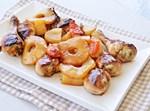 עוף באננס ותפוחי אדמה בתנור